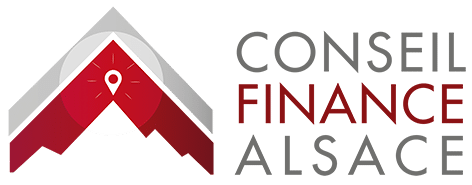 Logo conseil finance alsace courtier credits